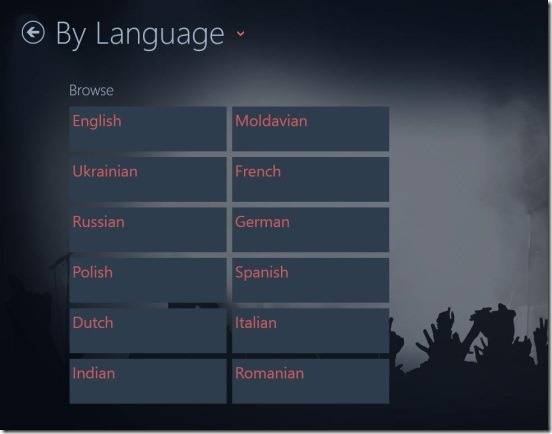 Online Radio Free - By Language station search
