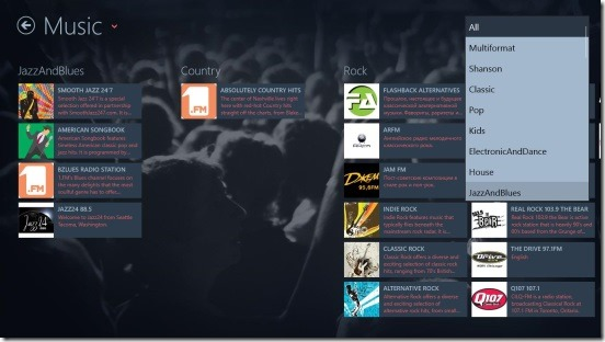 Online Radio Free - genres under Music