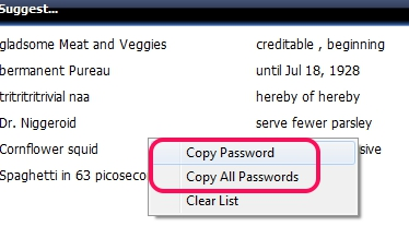 Pafwert- copy passwords