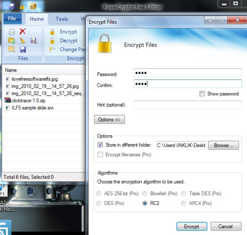 PowerCryptor Free Edition- file encryption software