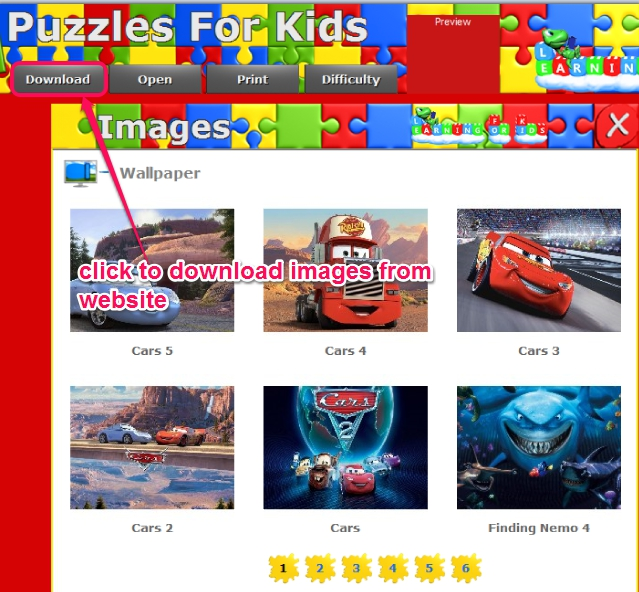 Puzzles For Kids- download images