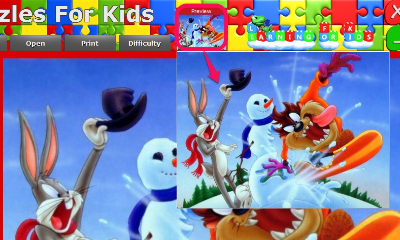 Puzzles For Kids- preview original image