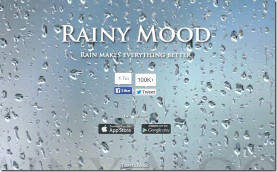 Rainy Mood-help with sleep-home page