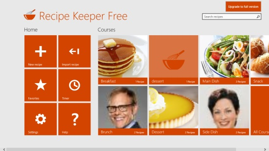 Recipe Keeper Free- Categories