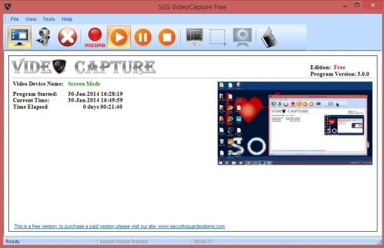 SGS VideoCapture Free - icon