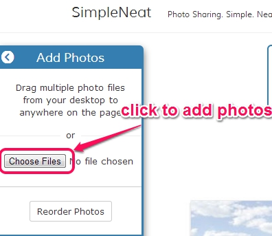 SimpleNeat- add photos