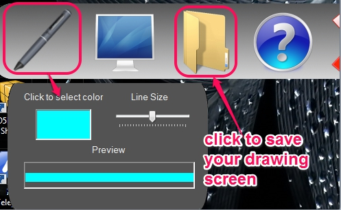 Sketch It!- save your drawing