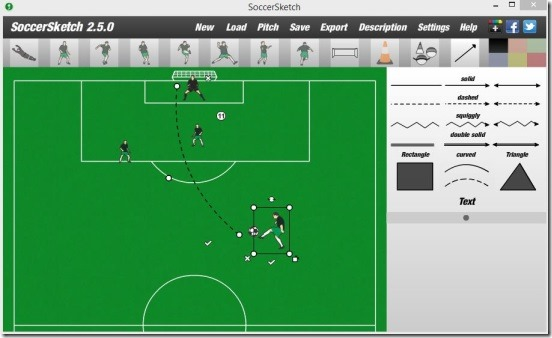 SoccerSketch - create drills