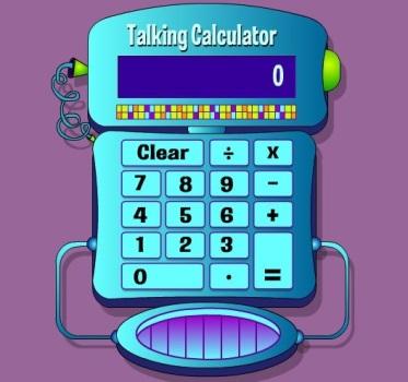 Talking Calculator-kids calculator-interface