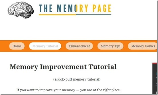The Memory Page