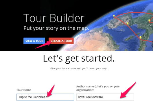 Tour Builder From Google - Tour Builder - Get Started
