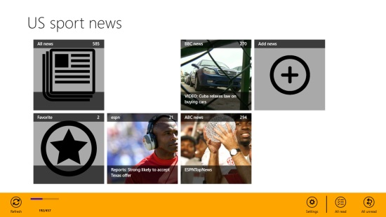 US sport news- read news offline