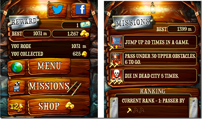Rail Rush Scores And Missions