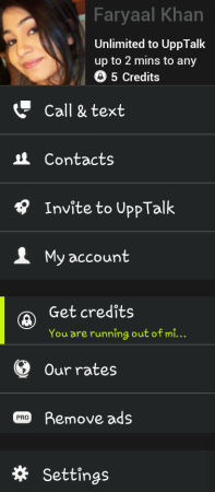 Upptalk App for Android free