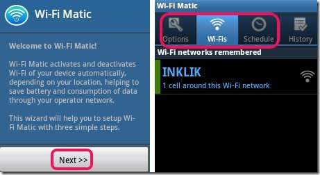 WIFI Manager on Android