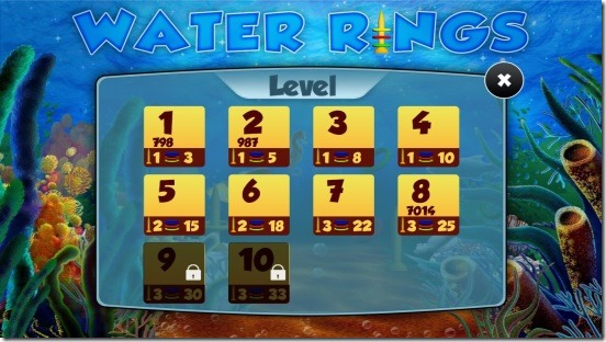 Water Rings - levelsjpg