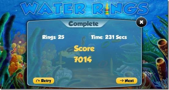 Water Rings - socres