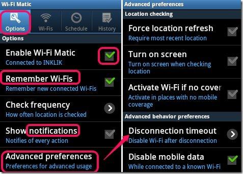 Wi-Fi Matic - Auto WiFi On Off