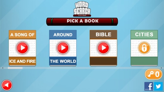 Word Search - Little Books- Categories