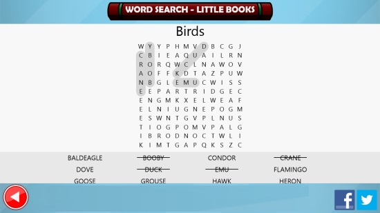 Word Search - Little Books