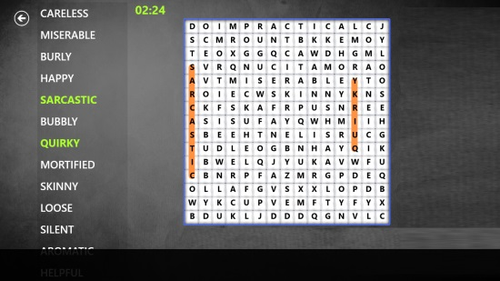 Word Search Mania!- Game