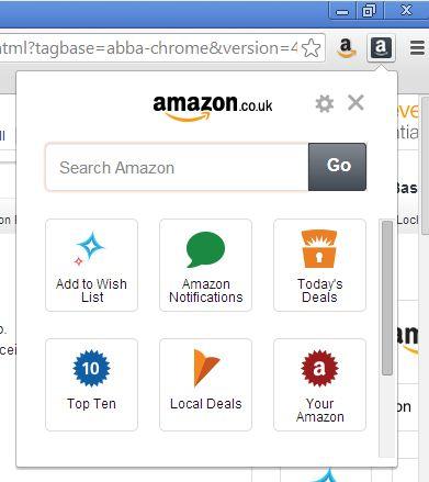 amazon wish list chrome extension