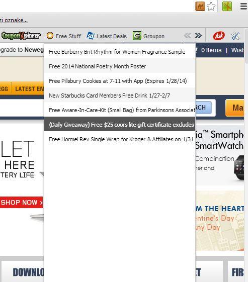 chrome coupons couponxplorer