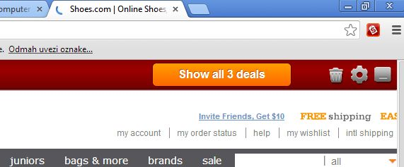 chrome coupons dealfinder