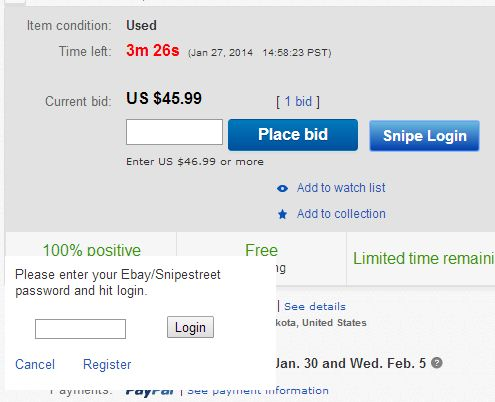 chrome ebay extension auto bidding