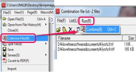 combine tif files