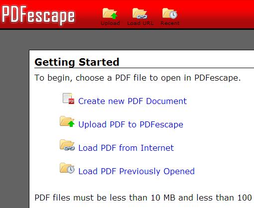 docs pdf chrome extensions viewing PDF  pdfescape
