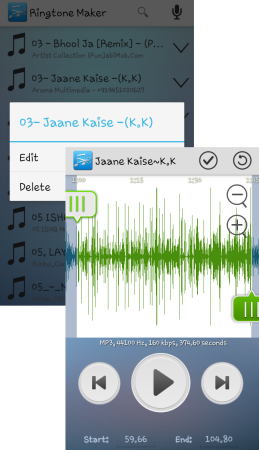 Ringtone Maker on Android