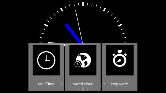yourTime- Minimized view