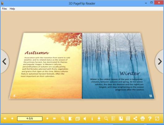3D PageFlip Reader- read 3DP flip books