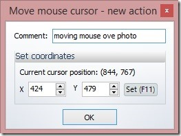Auto Click Typer - adding a mouse move operation