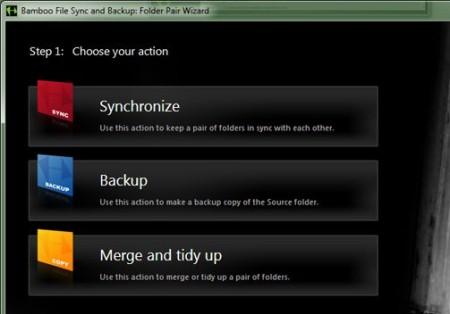 Bamboo-File-Sync- free folder synchronization software