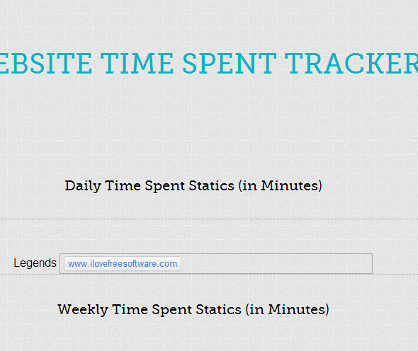 Chrome time tracking extensions timeStats-0