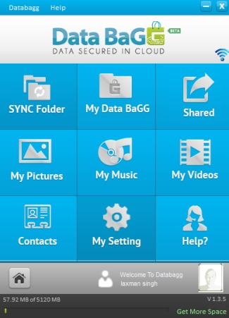 DataBagg- online cloud storage