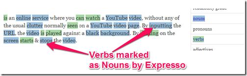 Expresso-errors