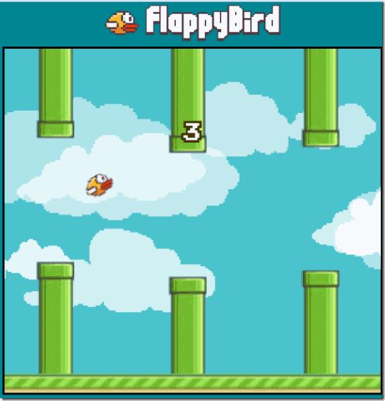 Flappy Bird Navigation