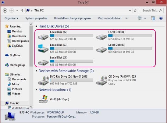 Folder2Drive - virtual drives