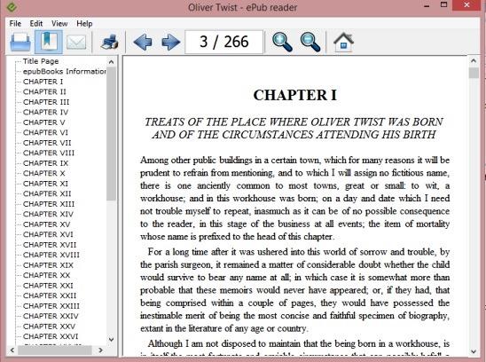 Free ePUB Reader To Read eBooks on Windows