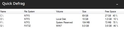 Get hard drives information