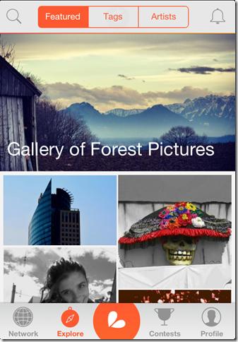 Photo Editing App Main Window