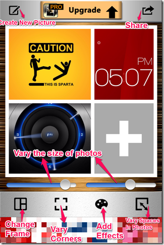 Collage Maker App Tools