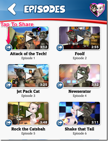 Talking Tom Cat And His Friends' Episodes