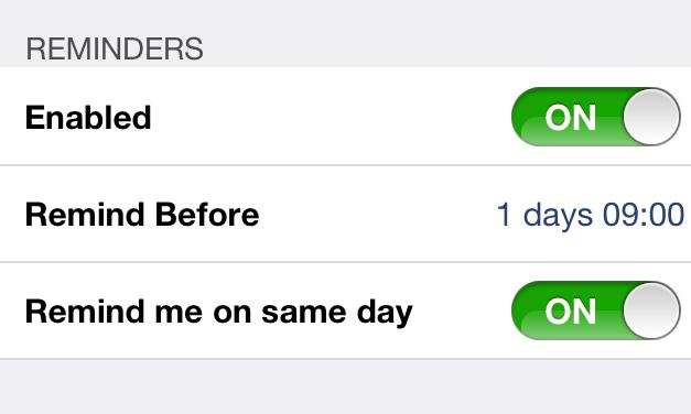 Free iPhone Birthday Reminder App That Imports Birthdays ...