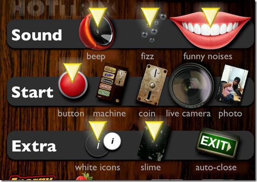 iBeer Fun App Settings