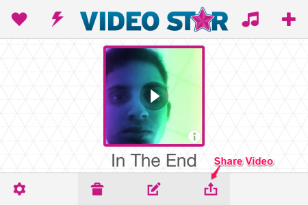 Share The Video