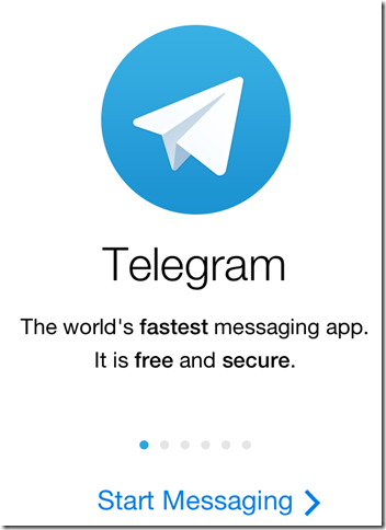 Telegram Messenger.